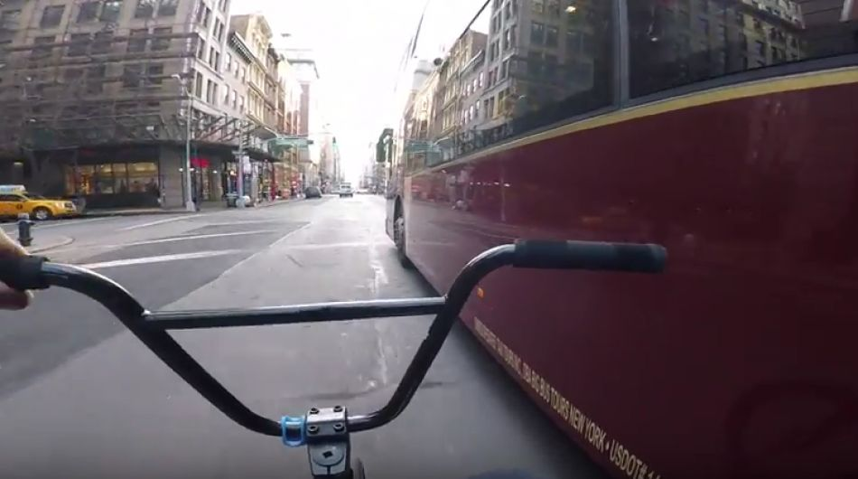 GoPro BMX Bike Riding in NYC 6 by Billy Perry