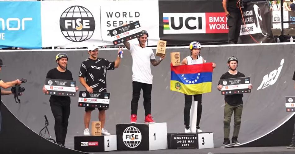 2017 FISE: UCI BMX Freestyle Park World Cup Final Highlights by Vital BMX