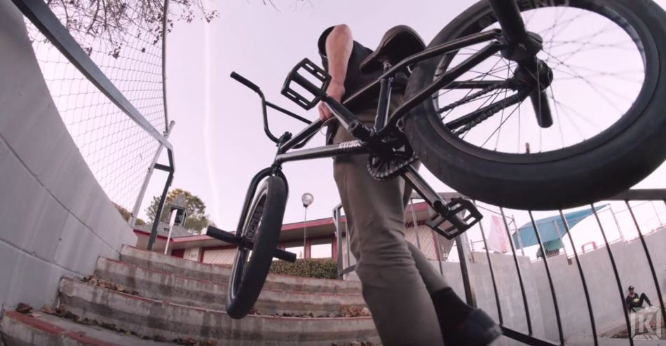Nathan Willams On The Kink Pillar Cranks! - Kink BMX