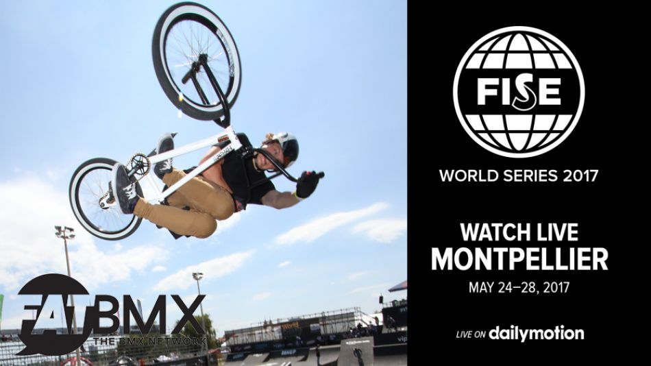 FISE MONTPELLIER live on FATBMX.com PRO MINI Finals tonight at 21:30hr.