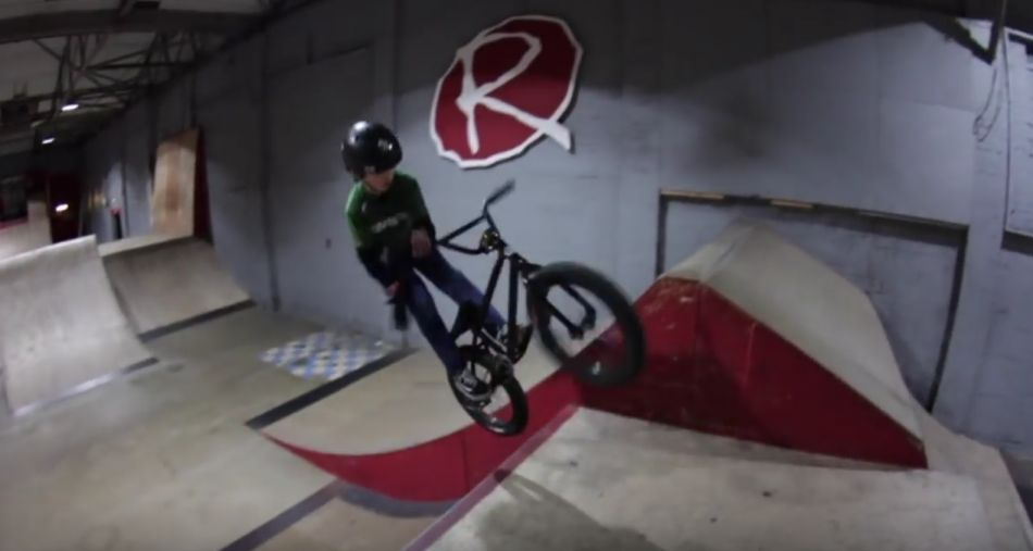 AMAZING 10 YEAR OLD BMX KID! by Rampworx Skatepark