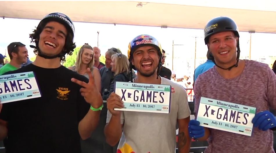 X Games Park Qualifier Video Highlights