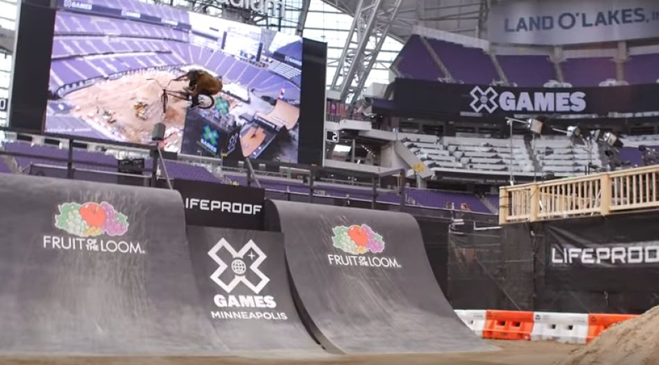 X Games 2017 - First Riding Footage by Ride BMX