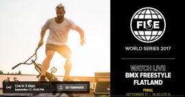 FISE EDMONTON 2017: BMX Freestyle Flat Pro Final