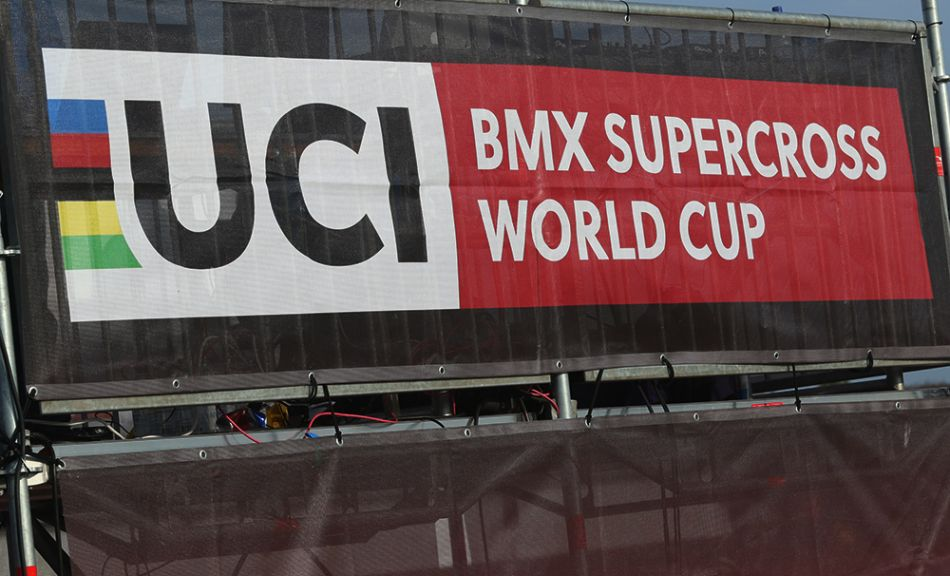 ROUND 1 Finals UCI BMX SX World Cup, Papendal, the Netherlands - bmxlivetv