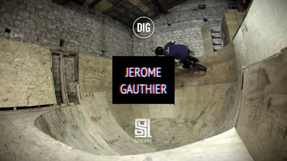 Jerome Gauthier and his DIY Ramps - SOUL X DIG BMX