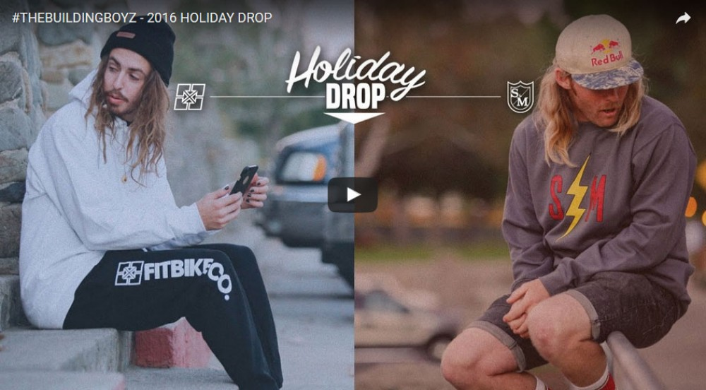 #THEBUILDINGBOYZ - 2016 HOLIDAY DROP by Fitbikeco.