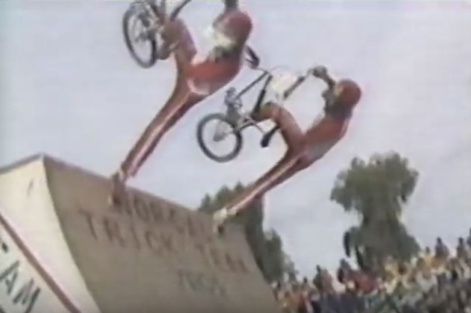 Hugo Gonzales and the Nor Cal Trick Team - Super Kids, 1982. By Maurice Meyer