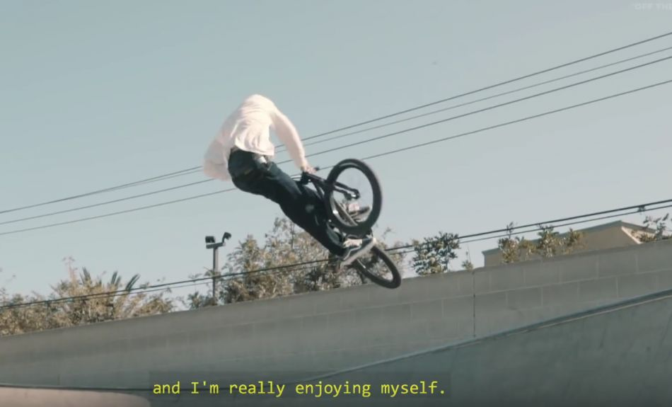ANOTHER DAY - NICO BADET IN CALIFORNIA: VANS BMX
