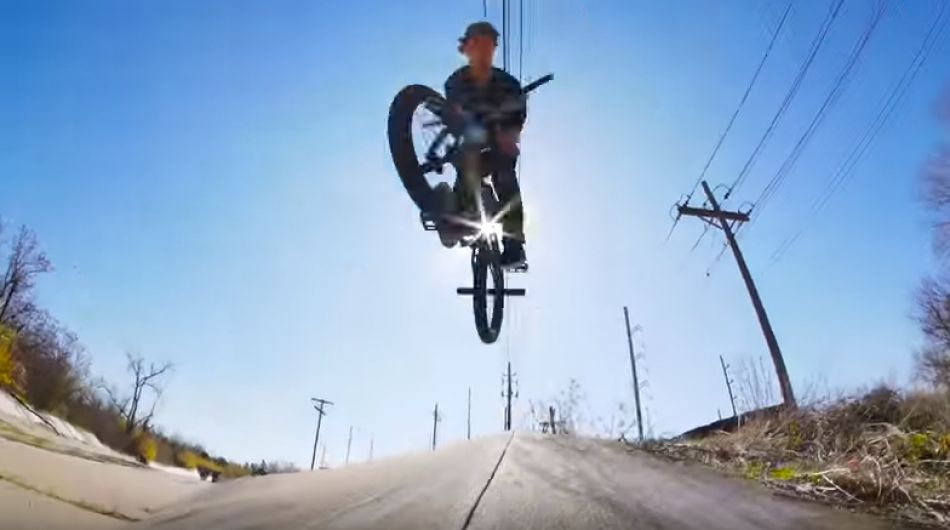 BMX / BRANDON WEBSTER FOR ODYSSEY BMX 2017