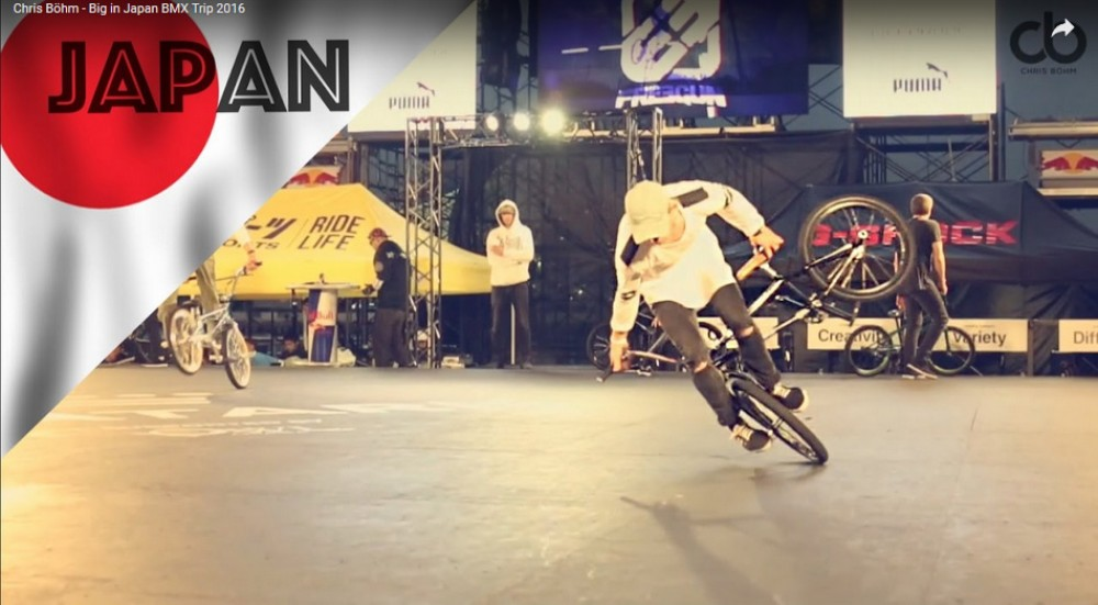 Chris Böhm - Big in Japan BMX Trip 2016