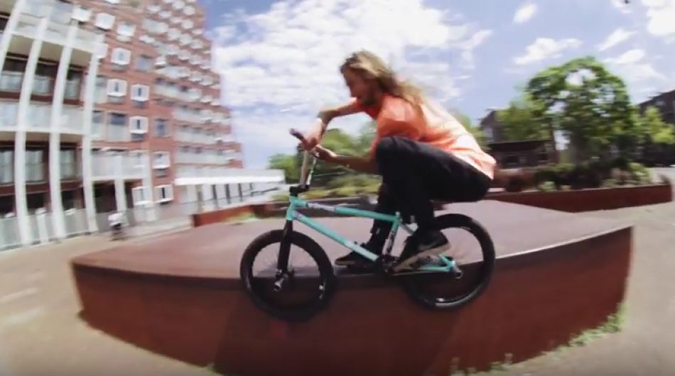 Ollie Shields x Joris Coulomb in Amsterdam with Shadow & Subrosa Rock N Roll BMX