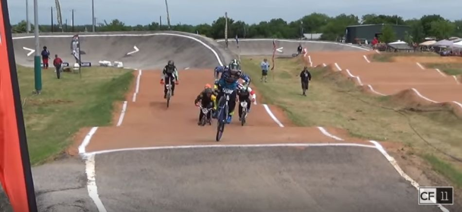 First BMX Race on new Carbon Fiber Frame...1st place! by Connor Fields
