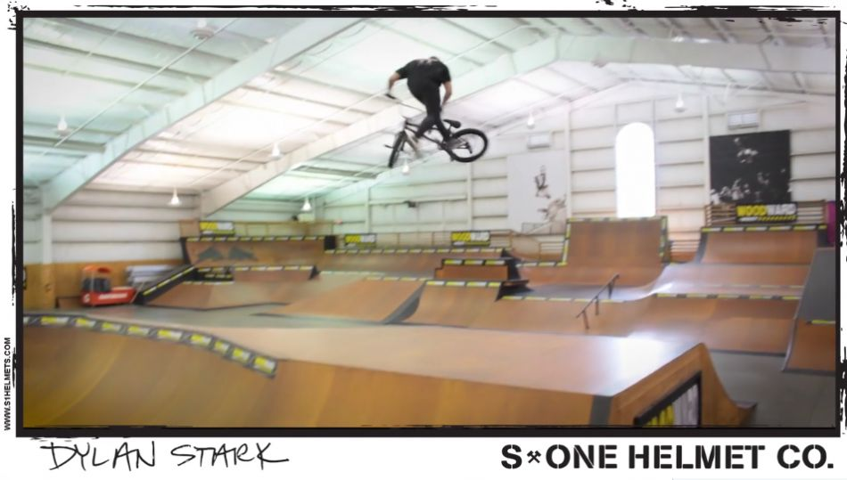 Dylan Stark #s1bmx Session at Woodward