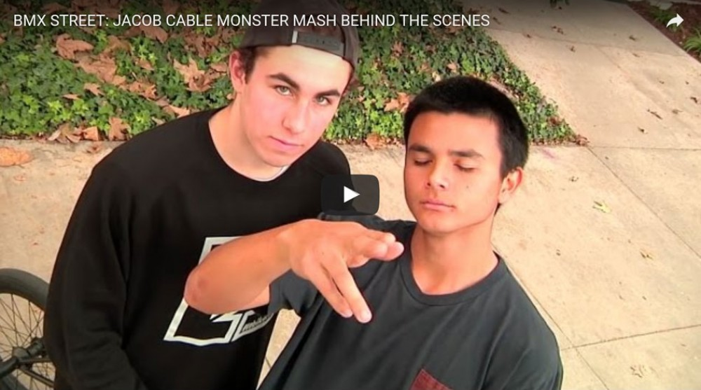 Jacob Cable Monster Mash behind the scenes by Common