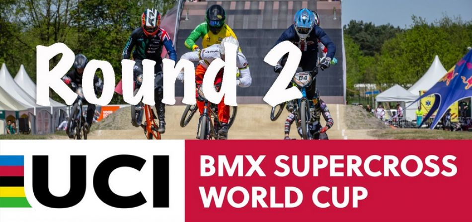 LIVE: UCI BMX SX World Cup Papendal, The Netherlands - Round 2 by bmxlivetv