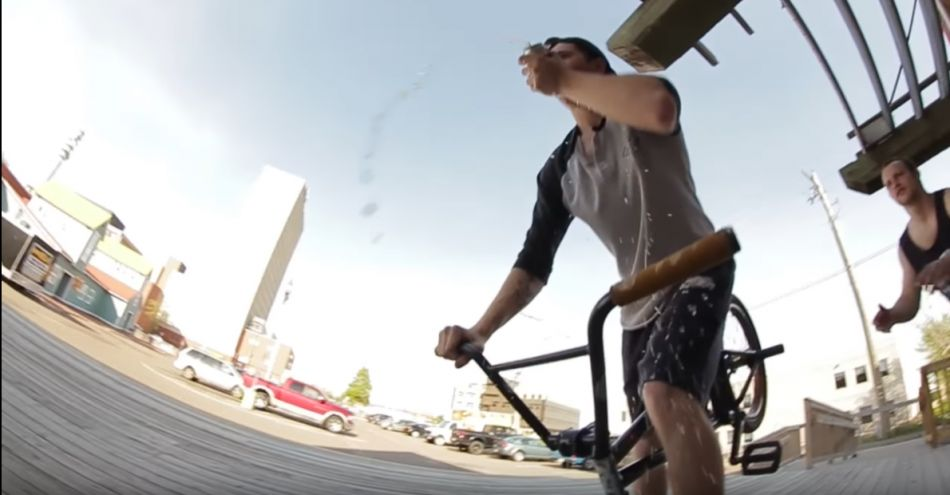 Business BMX II DVD - Matt Comeau Section