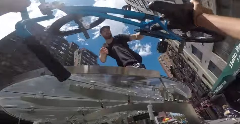 GoPro BMX Bike Riding in NYC 7 by Billy Perry