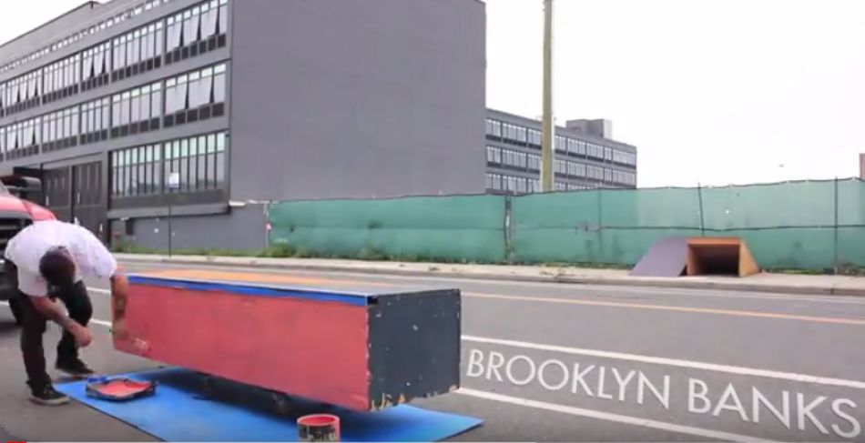 Brooklyn Banks Ledge Project