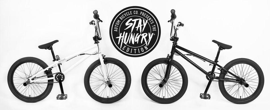 601e2f5097f AUTUM*STAY HUNGRY* Edition BMX Flatland Complete Bike