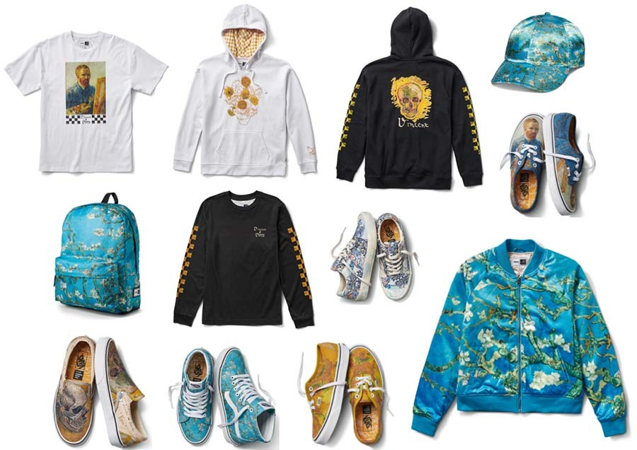 7c6e5c027ffe2f Vans Partners with the Van Gogh Museum Amsterdam to Release Exclusive  Collaboration
