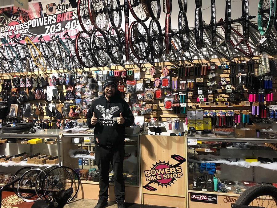Bmx Shop Bizznizz Talk With Chad Powers Powers Bike Shop