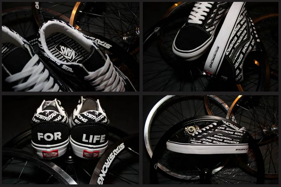 staystrong vans