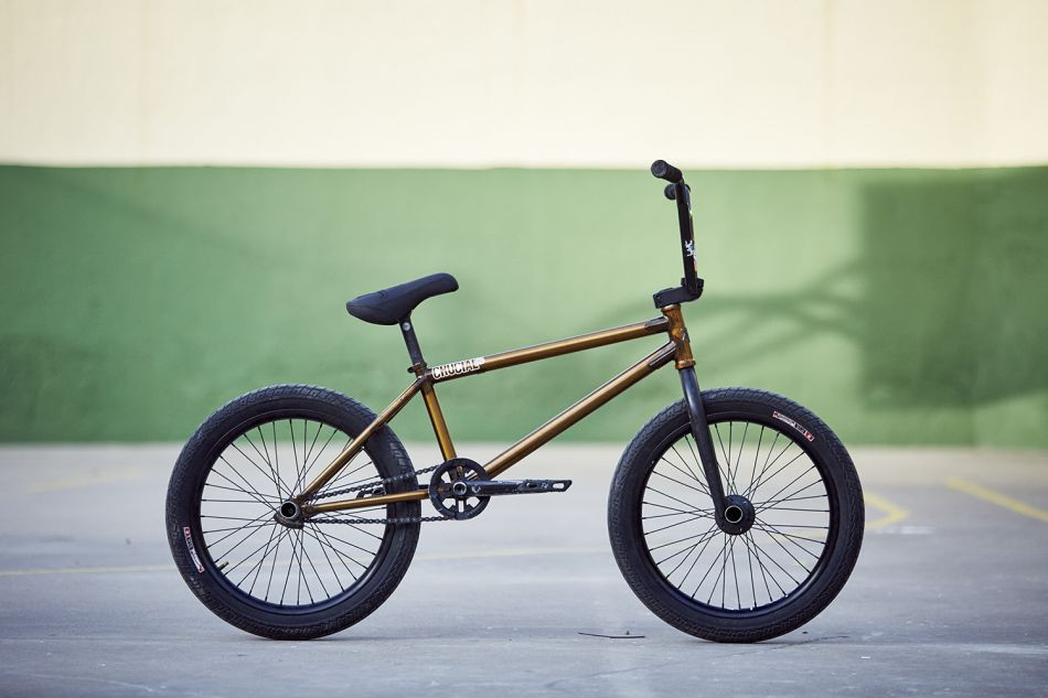 Emerson Morgan bike check