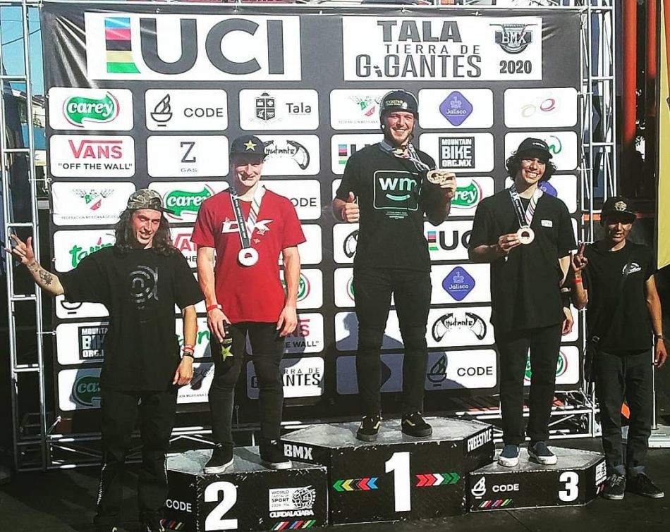 BMX Park Results C1 Tala Jalisco, Mexico. 1 March 2020.