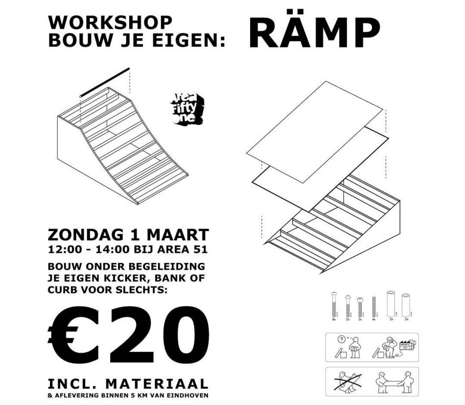 Build your own ramp for € 20,=