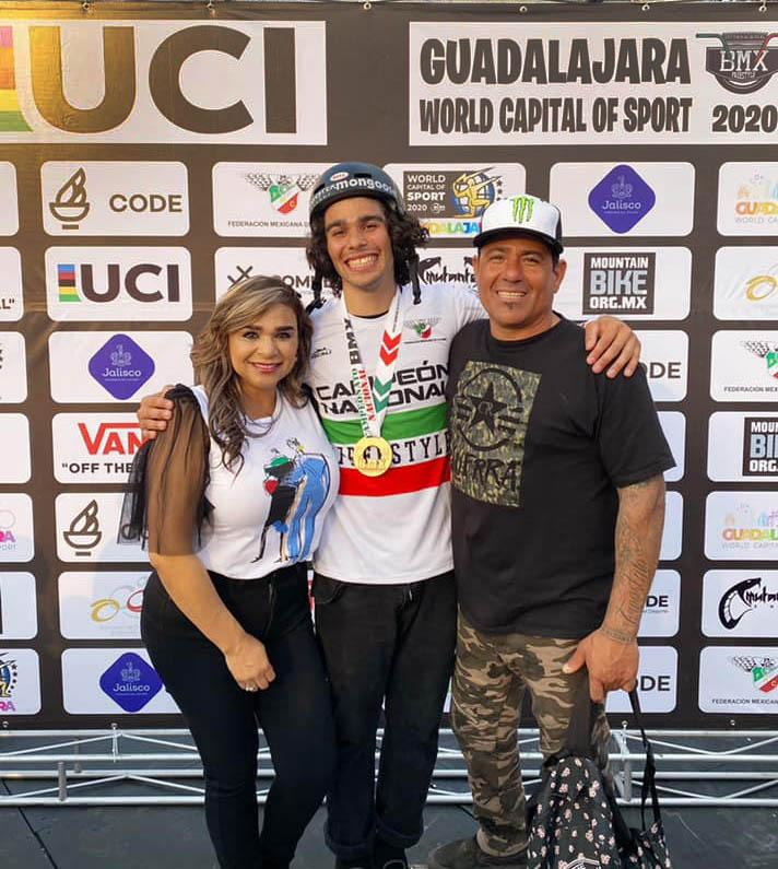 Mexico National Championship BMX Freestyle Park - Guadalajara, Jalisco - 08 March 2020