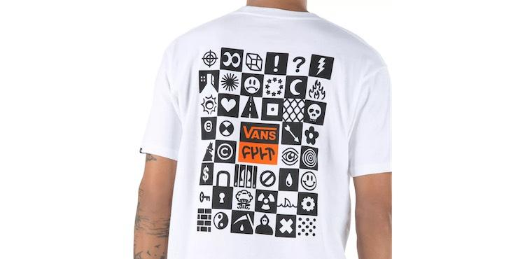 cult vans tshirt back