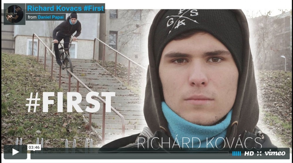 Richard Kovacs #First from Daniel Papai