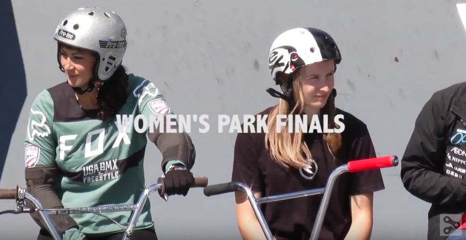 WOMEN'S BMX PARK UCI World Cup FINALS! - FISE WORLD EDMONTON 2018 by Ride BMX