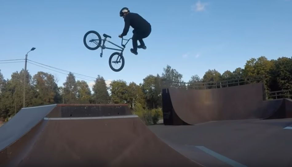 One minute with Andres Lainevool by Andres Lainevool BMX