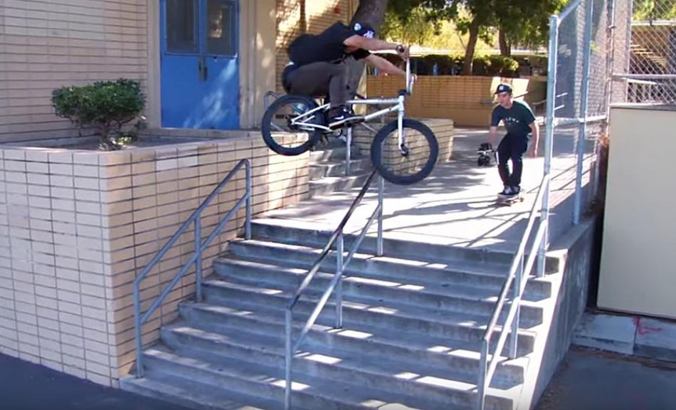 CHAD KERLEY - RE-UP 2015 VIDEO PART - CINEMA BMX