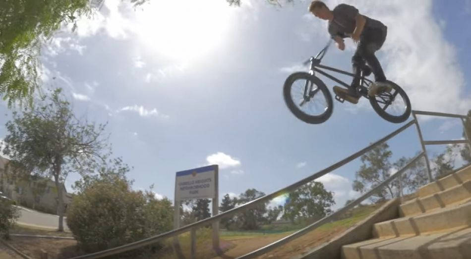 Travis Hughes Welcome To Pro Raw/BTS Footy - Ep. 16 Kink BMX Saturday Selects
