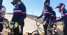 BMX - STAGE N°1 COLLECTIF FRANCE WOMEN Under22 by Simon Marchal
