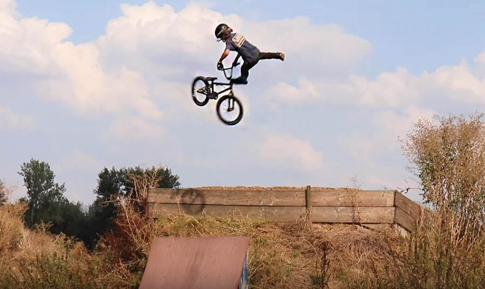 12 Year Old BMX PRO Lennox Zimmermann is back!