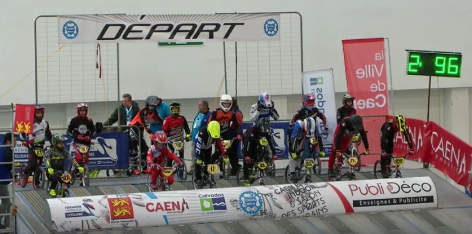 Caen BMX indoor LIVE Sunday. By CAEN BMX