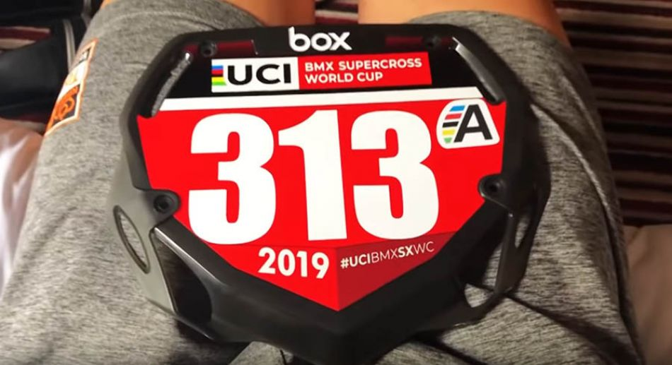 First UCI BMX SX of 2019 - Manchester, GB by Niek Kimmann