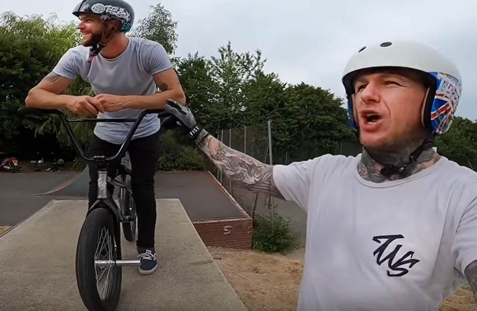 Crazy bmx session/lesson by The Webbie Show