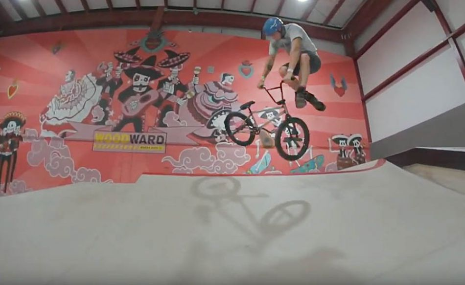 BMX - Nacho Bocskor at Woodward Riviera Maya by The BMX Files