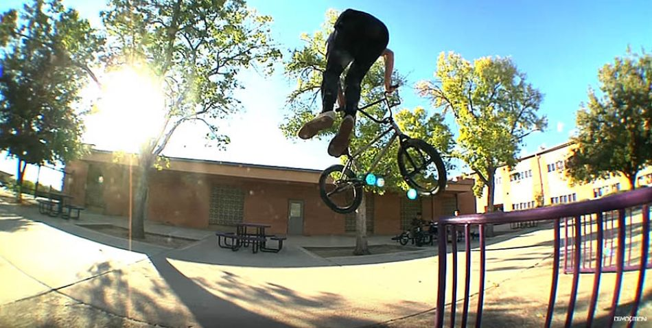 Demolition BMX: Jacman Hinss - CA to AZ