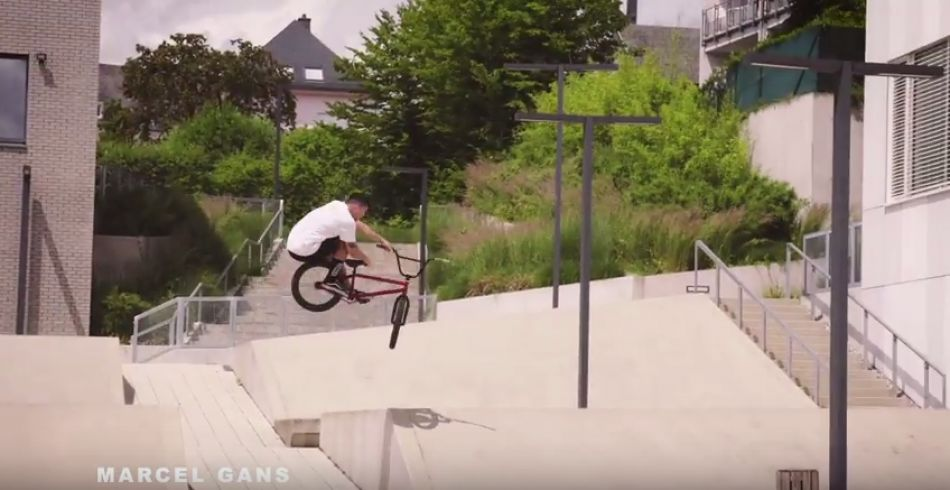 One day in Luxembourg 2018 - Felix Prangenberg by kunstform BMX Shop & Mailorder