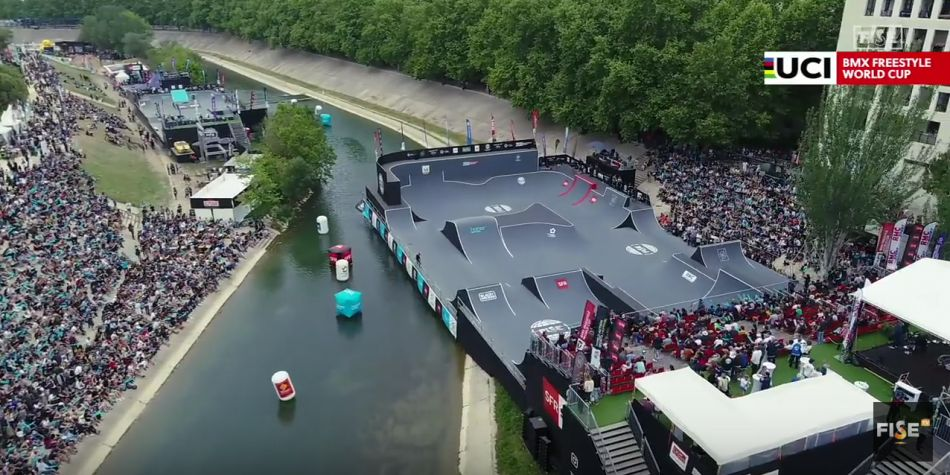 Best of UCI BMX Freestyle Park World Cup | FISE World Series Montpellier 2018