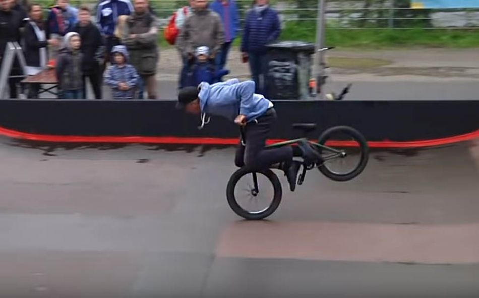 1. Stadtmauer Showdown in Darmstadt | freedombmx