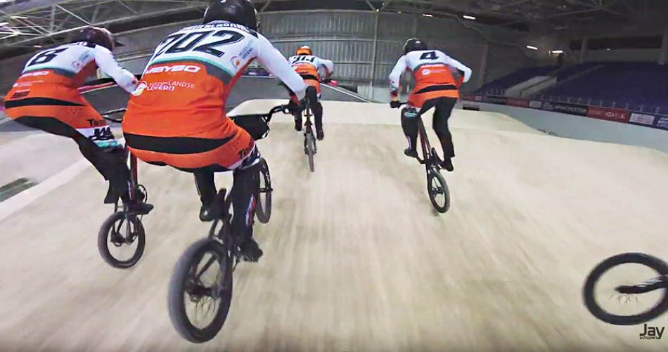 3 days 1 video // Manchester indoor BMX TeamNL by Jay Schippers