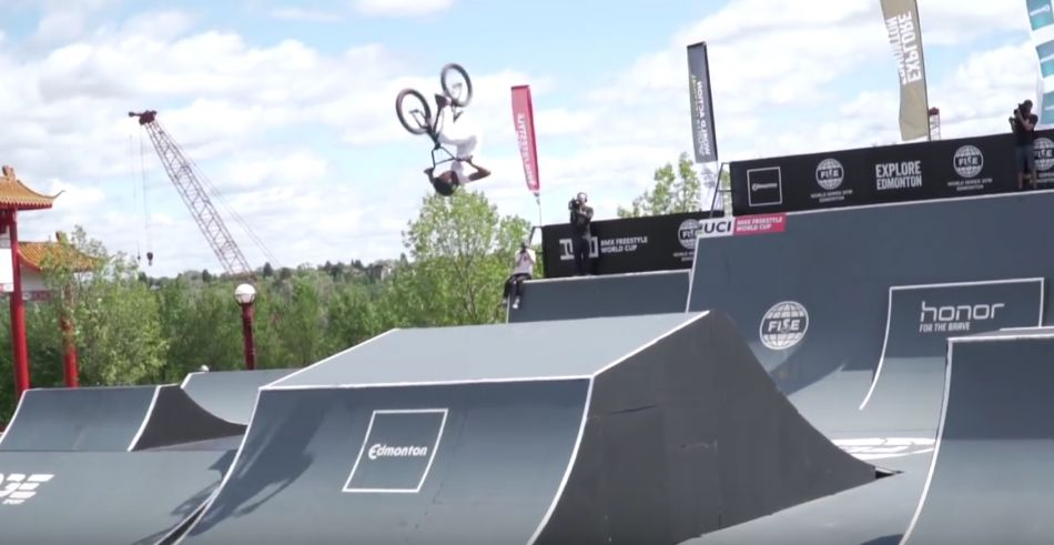 FISE: UCI BMX Freestyle World Cup Edmonton 2018 - Women's Highlights by Vital BMX