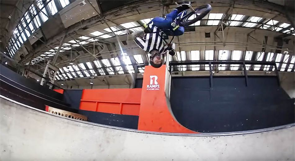 CRAZY BMX RIDING IN WINTER! by Harry Main